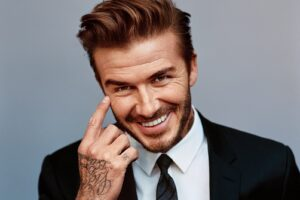 David Beckham, an English former professional footballer, the current president & co-owner of Inter Miami CF and co-owner of Salford City.