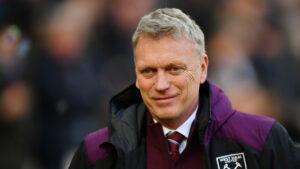 David Moyes, a Scottish professional football coach and former player.