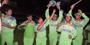 The final of the 1992 ICC Cricket World Cup was played at the Melbourne Cricket Ground,