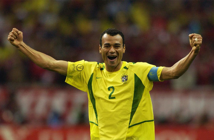 Cafu, a Brazilian former professional footballer who played as a defender.