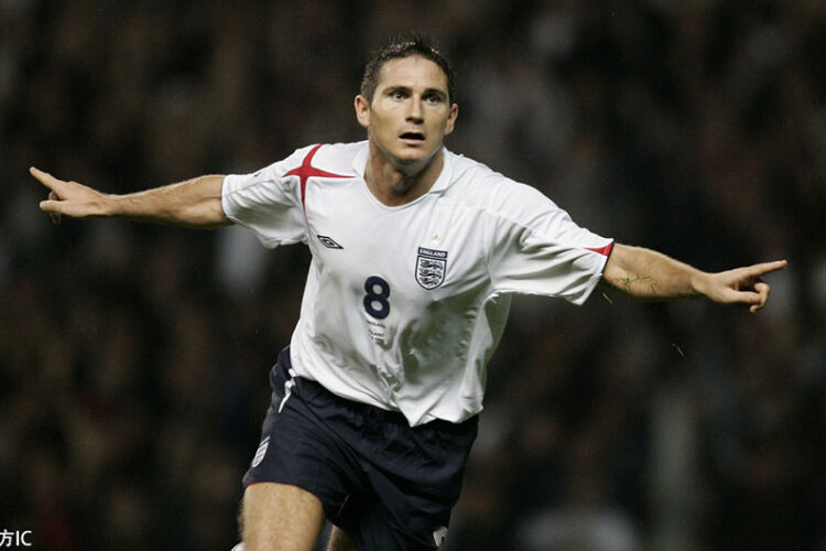 Frank Lampard, an English professional football manager and former player who was most recently the head coach of Premier League club Chelsea.