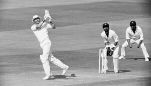 MCC's Graham Gooch, He has scored centuries in Test and One Day International (ODI) matches