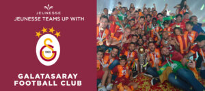 Galatasaray football club, a professional football club based on the European side of the city of Istanbul in Turkey.