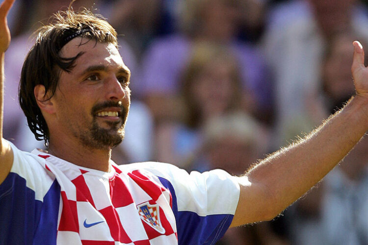 Goran Ivanisevic, a Croatian former professional tennis player and current tennis coach.
