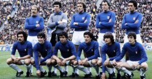 represented Italy in international football since their first match in 1910.