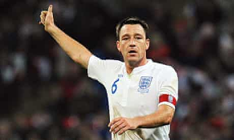 John Terry, an English professional football coach and former player who played as a centre-back.