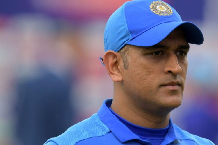 Mahendra Singh Dhoni, a former Indian international cricketer who captained the Indian national team.
