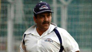 Manoj Prabhakar, an Indian former cricketer. He was a right-arm medium-pace bowler and a lower-order batsman,