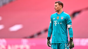 Manuel Neuer, a German professional footballer who plays as a goalkeeper and captains