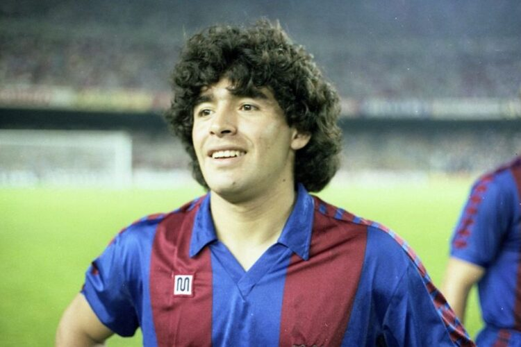 Maradonna, an Argentine professional footballer and manager.