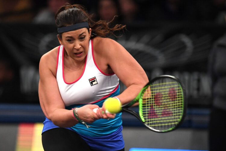 Marion Bartoli, a French former professional tennis player.