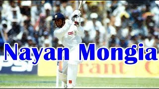Nayan Mongia, He was a right-handed batsman and a wicketkeeper.