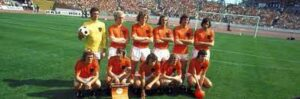 has represented the Netherlands in international men's football matches since 1905.