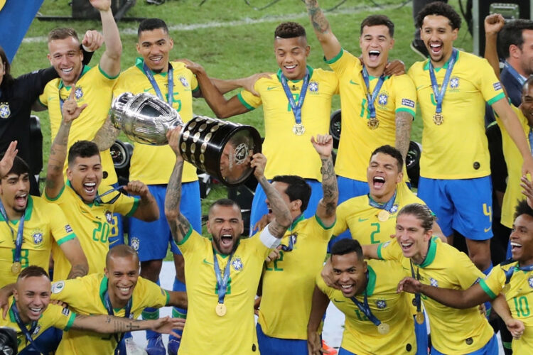 The Brazilian football team has a glorious record in the Copa America tournament history.