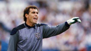 Peter Shilton, an English former footballer who played as a goalkeeper.