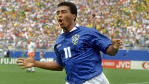 Romário de Souza Faria, a Brazilian politician who previously achieved worldwide fame as a professional footballer.