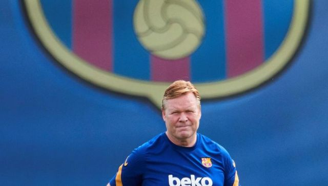 Ronald Koeman, a Dutch professional football manager and former player,