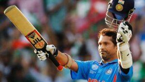 Sachin Tendulkar, an Indian former international cricketer who served as captain of the Indian national team.