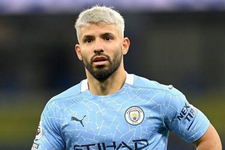 Sergio Augero, an Argentine professional footballer who plays as a striker for Premier League club Manchester City and the Argentina national team.