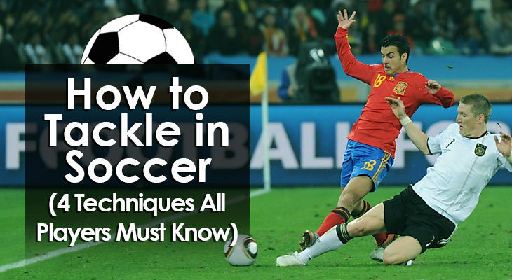 The skill of tackling in soccer is the act of a defender coming to meet an opponent who is in possession of the ball, engaging him, and then legally using a foot to take the ball away.