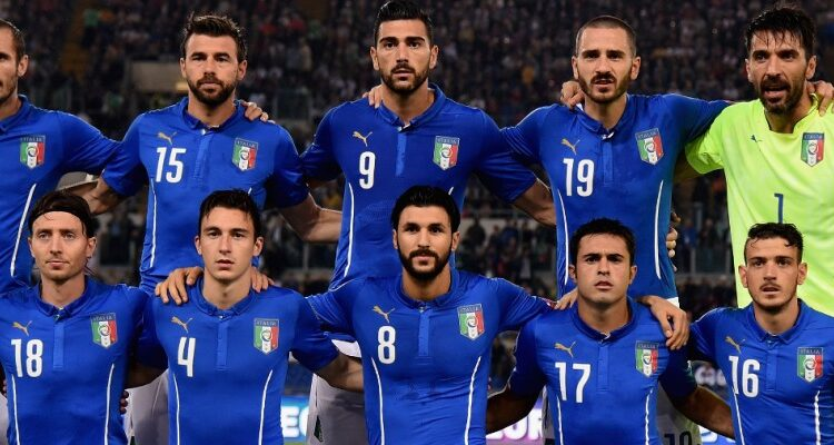 The Italian football team, represented Italy in international football since their first match in 1910.