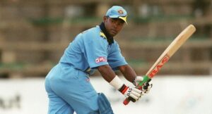 Vinod Kambli, a former Indian cricketer, who played for India as a middle order batsman, as well as for Mumbai and Boland, South Africa