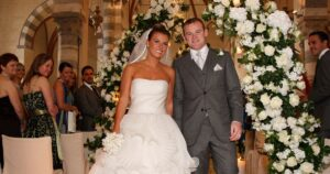 Wayne and Coleen married in a £5million wedding in Santa Margherita Ligure in Italy on 12 June 2008.