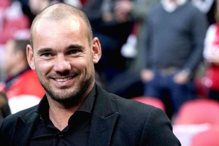 Wesley Sneijder, a Dutch retired professional footballer.