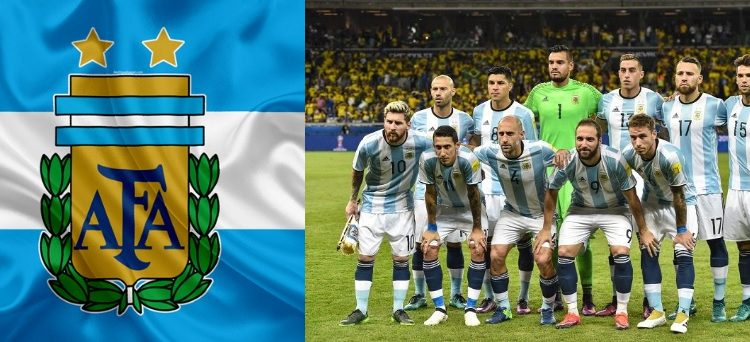 The Argentine National Football Team, represents Argentina in men's international football and is administered by the Argentine Football Association,
