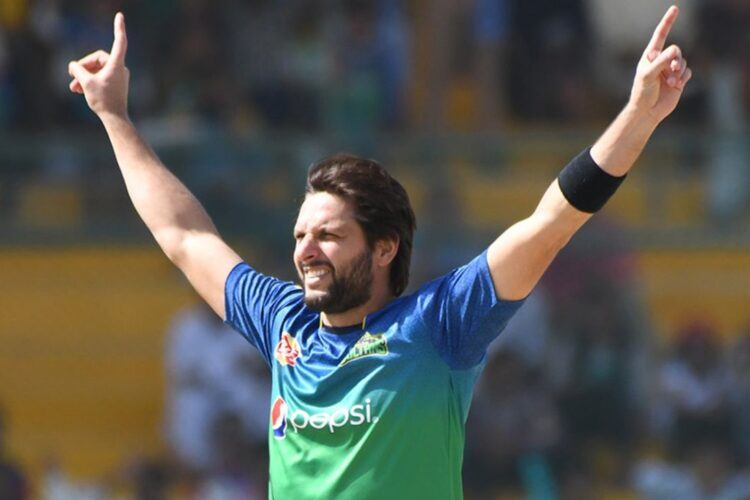 Afridi, a Pakistani cricketer and the former captain of the Pakistan national cricket team.