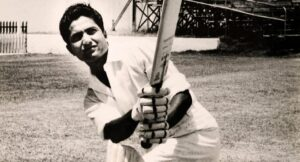 Hanif Mohammad, played for the Pakistani cricket team in 55 Test matches.