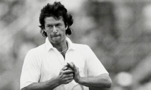 Imran Khan, an international cricketer and captain of the Pakistan national cricket team,